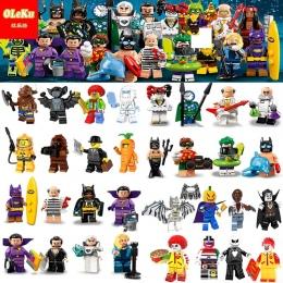 Jednorożec 18 Harley Quinn Syrenka Batman Hugo Dziwne Robin Zegar Król Joker Klocki Klocki Zabawki figurki 71020