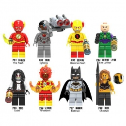 Super Hero Hotsale Marvel Figurki Cheetah Odwrotnej Luthor Cyborg Lobo Firestorm Model Klocki Klocki Zabawki Batman flash