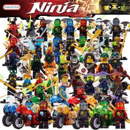 Ninja Kai Jay Zane Cole Lloyd Carmadon Ninjago figurki Building Blocks Z Motocykl Kompatybilny Z LegoINGlys Zabawki bk20