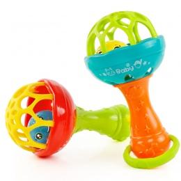 Dziecko Grzechotki zabawki Inteligencji Chwytając Dziąsła Plastikowa Ręka Dzwon Grzechotka Funny Edukacyjne Mobiles Zabawki Prez