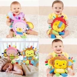 8 style Dziecko Zabawki Grzechotki Pacify Lalki Pluszowe Dziecko Grzechotki Zabawki Zwierząt Bells Ręczne Newbron Zwierząt słoń/
