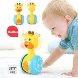 Dziecko Grzechotki Suszarka Lalki Dla Dzieci Zabawki Słodkie Dzwon Muzyka pulchny Nauka Edukacja Zabawki Prezenty Dziecko Dzwon