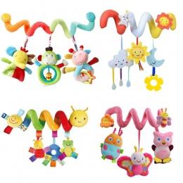 Early Development Miękkie Dziecięce Łóżeczko Łóżko Wózek Zabawki Spirali Dziecko Zabawki Dla Niemowląt Fotelik Samochodowy Wiszą