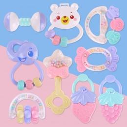 Cute Baby Zabawki Noworodka Gryzak Bells Ręczne Zabawki Dla Niemowląt 0-12 Miesięcy Ząbkowanie Rozwoju Niemowląt Wczesne Edukacy