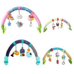 Hot sprzedaż piękny Wózek Tokarka Samochód Seat Travel Cot Wiszące zabawki dla dzieci grać noworodka dziecko Zabawki edukacyjne