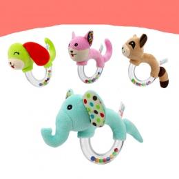 Nowy Projekt Baby Grzechotka Zabawki Zwierząt Bells Ręczne Pluszowe Zabawki Dla Dzieci Wysokiej Jakości Newbron Prezent Zwierząt