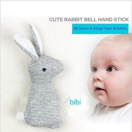 Baby Grzechotka Zabawki Zwierząt Śliczny Królik Bells Ręczne Pluszowe Zabawki Dla Dzieci Z BB Dźwięk Toy Prezent Boże Narodzenie