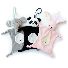 Noworodka Blankie kojący ręcznik Baby Zabawki Zwierząt kształt Ręcznik Niemowlę Dziecko Prezent Miękkie Uspokoić Edukacyjne Zaba