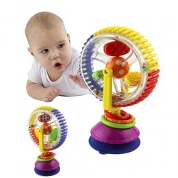Baby Grzechotka Zabawki Tricolor multi-touch Obracanie Ferris Wheel Frajerów Zabawki Kreatywne Zabawki Edukacyjne Dla Niemowląt