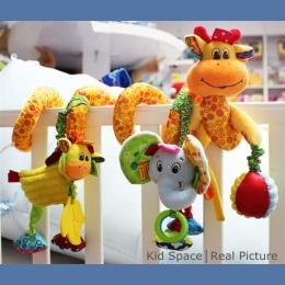 Noworodka Zabawki Dla Niemowląt 0-12 Miesięcy Wypchane Zabawki Zwierząt Baby Wózek Spacerowy Łóżko Wiszące Grzechotki Grzechotka