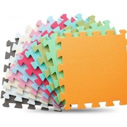 JCC 6 sztuk/zestaw Zagraj Mat Z Pianki EVA Puzzle Dla Dzieci/dzieci Zabawki dywan Dywany dla Płytki Podłogowe Blokujące Ćwiczeni