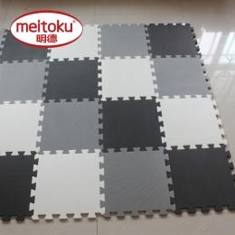 Meitoku dziecko EVA Pianka Zabaw Puzzle Mata dla dzieci/Blokujące Ćwiczenia Płytki Podłogowe Dywan dywan, każdy 32X32 cm, 18 lub