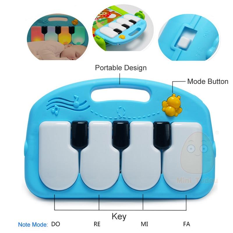 Mini Tudou Dziecko Gra Mata Dzieci Dywan Edukacyjne Puzzle