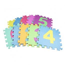 10 sztuk/zestaw Pianki EVA Dla Dzieci Puzzle Playmats Podłogi Maluch Dziecko Dywan Maty Miękkie Dywan Podłogowe Dziecko Indeksow