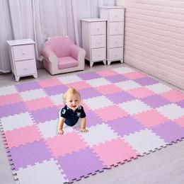 18 sztuk/zestaw Dziecko Puzzle Z Pianki EVA Zagraj Mat/dzieci Dywany Zabawki dywan dla dzieci Blokujące Ćwiczenia Płytki Podłogo