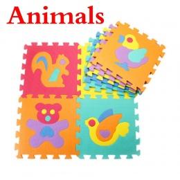 10 sztuk/zestaw Dziecko Grać Maty Puzzle Mata Dywan Rozwój Dywan Piętro Puzzle Mata EVA Dzieci Pianka Dywan Mozaika Foor Dziecko