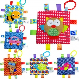 Gryzaki Chwytając Noworodka Ręcznie Ręcznik Uspokoić Ręczniki Zwierzetami Dziecka Zabawki 12 Kształt Dzieci Dziecko Gryzie Czysz