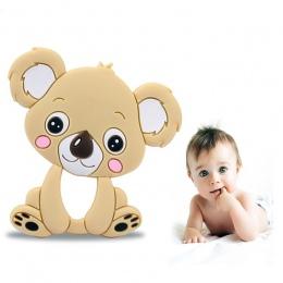 Gryzaki dla niemowląt Gryzaki Silikonowe 0-12 Miesięcy Koala Pacify Comfort Niemowląt Chew Bite Gryzak Charms Noworodka Dziecko