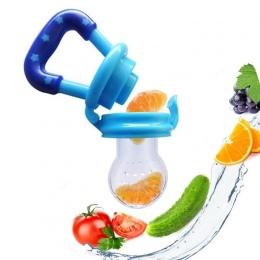 Zabawki Silikonowe Szczypce Karmienia Smoczek Gryzak dla niemowląt Maluch Dziecko Świeże Jedzenie Owoców Zupa Ząbkowanie Podajni