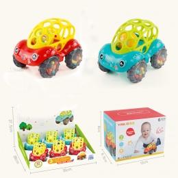 Samochód dziecko dzwony trzymać zabawki miękkie carbaby ręcznie piłka catch Dziecko Pierścień Zabawki Silikonowe Chew Charms Pre