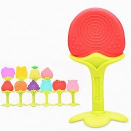 Dziecko Gryzaki Silikonowe Spożywczej Gryzak Silikonowy Owoców Kształt Silikon Ząbkowanie Dziecka Ząbkowanie Zabawki InfantChew