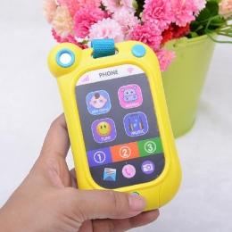 Nowe Zabawki Dla Dzieci Telefon Edukacyjne Dla Dzieci Symulacji Muzyka Telefony Zabawki Telefon dla Dziecka Prezent Urodzinowy Z