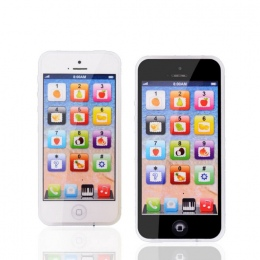 Zabawki edukacyjne Telefon z LED Dziecko Kid Edukacyjne telefon English Learning Toy Telefon komórkowy Chrismtas Prezenty
