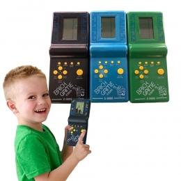 Retro Klasyczne Elektroniczne Puzzle Zabawki Tetris Gry Edukacyjne Dla Dzieci Zabawki Graczy Wbudowany W 23 Czołgi Wojenne Gry C