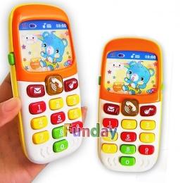 Elektroniczne Zabawki Kid Learning Zabawki Edukacyjne Muzyka Telefon komórkowy Telefon Komórkowy Telefon Komórkowy Telefon Dla N