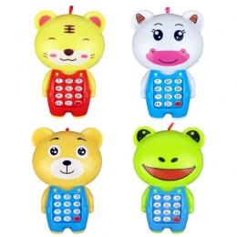 Elektroniczna Zabawka Telefon Dla Dzieci Zwierzęta Brzmiące Cyfrowy Wokal Świecące Uczenia Edukacyjne Zabawki Muzyczne Telefon k