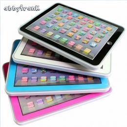 Abbyfrank Dzieci Nauka Angielskiego Wokal Tablet Zabawki Pa Ledarning Narzędzia Dzieci Laptopa Pad Kształceniem Zabawki Dla Dzie