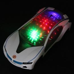 1 pc Shining Elektroniki Model Samochodu Magia Utwór Zabawki z Migające Światła Zabawki Edukacyjne dla Dzieci Chłopcy Prezenty U