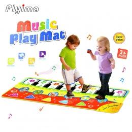 1 pc dzieci zabawki Dla Dzieci Muzyka Dywan montessori edukacyjne Fortepianowej wielofunkcyjny zwierząt wspinaczka mat wczesna e
