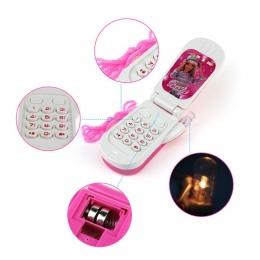 Elektroniczne Zabawki Telefon Muzyczny Mini Słodkie Dzieci Zabawki Telefonu Wczesna Edukacja Kreskówki Telefon komórkowy Telefon