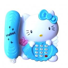 Kitty Musical Komórka Telefon Dla Dziecka Zabawki Dla Dzieci Edukacyjne Interaktywne zabawki Telefon Z Dźwiękiem I Światłem Jako