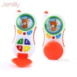Zabawki dla niemowląt z dźwiękiem i światłem/Studium Uczenia Dziecka telefon komórkowy zabawki/Dziecko telefon muzyczny zabawki