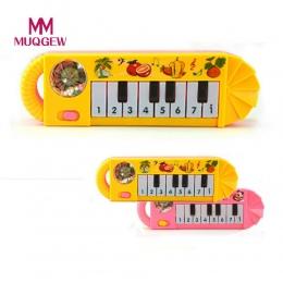 MUQGEW Marka Baby Dzieci Musical Edukacyjna Animal Farm Piano Muzyka Rozwojowa Toy/Muzyki Wczesnego Edukacyjne Zabawki na Prezen