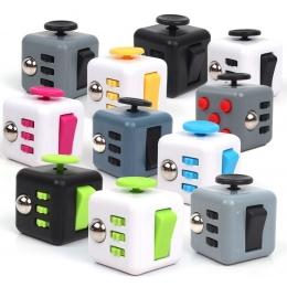 11 kolor Fidget Cube Zabawki dla Zagadki i Magiczny Prezent Antystres gorąca sprzedaż