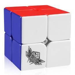 D-FantiX Cyclone Chłopcy 2x2 Prędkość Cube Stickerless Magia Cube Puzzle Zabawki 50mm