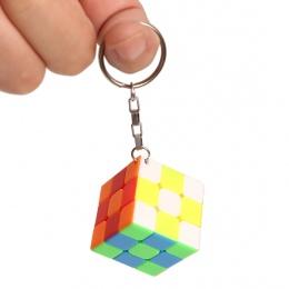 Z Breloczek Mini 3x3 Cube Magia Creative Cube Hang Dekoracje-Kolorowe
