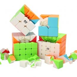 2x2x2 3x3x3 4x4x4 Cube Magia Puzzle Zabawki Dla Dzieci prędkość Cube Magico Uczenia Edukacyjne Puzzle Zabawki Magiczna Kostka Ki