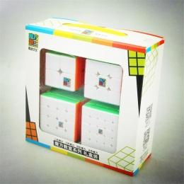Moyu Cube Bundle 2x2 3x3 4x4 5x5 Prędkość Cube Zestaw Mofang Jiaoshi magiczna Kostka MF2S MF3S MF4S MF5S Paczka Puzzle Toy Preze