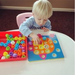 Puzzle 3D Puzzle Zabawki Dla Dzieci Obraz Kompozytowy Kreatywnych Mozaika Grzyba Paznokci Zestaw Gra Edukacyjna Zabawki Dla Dzie