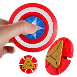 Kaygoo Gorąca sprzedaż Avengers Kapitan Amerykańska Batman Ironman Fidget Rąk Finger gyro Spinner Spinning EDC ADHD Anty Stres
