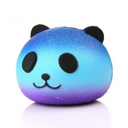 2018 Dropshipping Ładny Niebieski Panda Wycisnąć Krem Zapachowa Squishy Powolny Wschodzące Kid Toy Telefon Charm Prezent