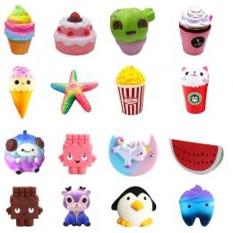Zabawki penguin zębów dyni squishies Squishy Powolny Wzrost 10 cm 12 cm Miękkie Wycisnąć Ładny Telefon komórkowy Pasek prezent S