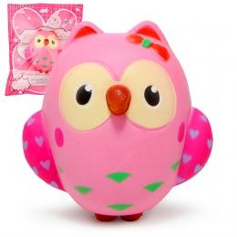 Cute Sowa Squishy Powolny Wschodzące Krem Pachnące Zabawki Squeeze Oryginalne Opakowanie