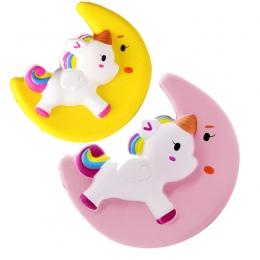 Nowy Squishy Zabawki Symulacji Księżyc Jednorożec Kształt Powolne odbicie PU Dekompresji Zabawki Squishy Powolny Wschodzące Anti