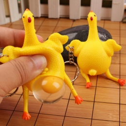 Niespodzianka Zabawki Anty Stres Zabawki Squeeze Kurczaka i Jaja Funny Squishy Nowością zabawki Autyzm Nastrój Wycisnąć Ulga Oyu