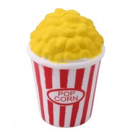 Śliczne Popcorn Wycisnąć Jumbo Miękkie Powolne Wschodzące Wycisnąć Charm Krem Pachnące Dzieci Nowość Funny Symulacji Zabawki Pre